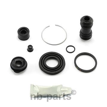 Bremssattel Reparatursatz HINTEN 35 mm Bremssystem AKEBONO Rep-Satz Dichtsatz