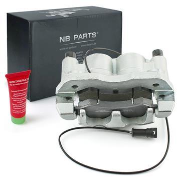 Bremssattel + Bremsklötze vorne links für Multicar M26