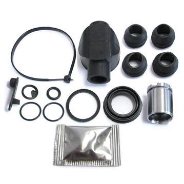Bremssattel Reparatursatz + Kolben HINTEN 30 mm Bremssystem BENDIX Rep-Satz