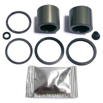Bremssattel Reparatursatz + Kolben HINTEN 33 mm Rep-Satz Dichtsatz