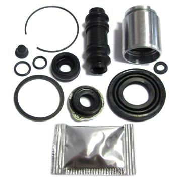 Bremssattel Reparatursatz + Kolben HINTEN 35 mm Bremssystem AKEBONO Rep-Satz