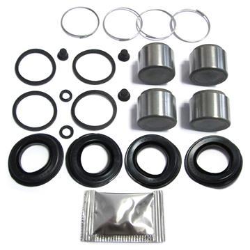 Bremssattel Reparatursatz + Kolben HINTEN 36 mm Bremssystem GIRLING Rep-Satz