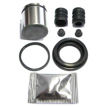 Bremssattel Reparatursatz + Kolben HINTEN 40 mm Bremssystem LUCAS Rep-Satz