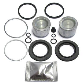 Bremssattel Reparatursatz + Kolben HINTEN + VORNE 42 mm Bremssystem ATE Rep-Satz