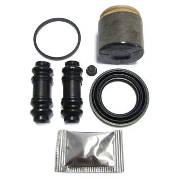 Bremssattel Reparatursatz + Kolben HINTEN 48 mm Rep-Satz Dichtsatz