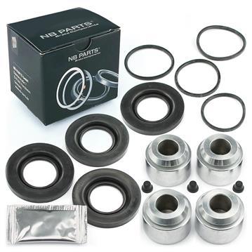 Bremssattel Reparatursatz + Kolben VORNE 50 mm Bremssystem PERROT Rep-Satz