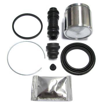Bremssattel Reparatursatz + Kolben HINTEN 51 mm Rep-Satz Dichtsatz