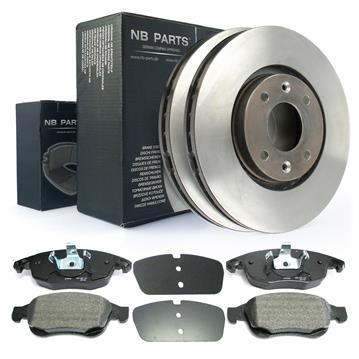 disques de frein plaquettes de frein avant 283 citro n berlingo c4 ds4 ebay. Black Bedroom Furniture Sets. Home Design Ideas